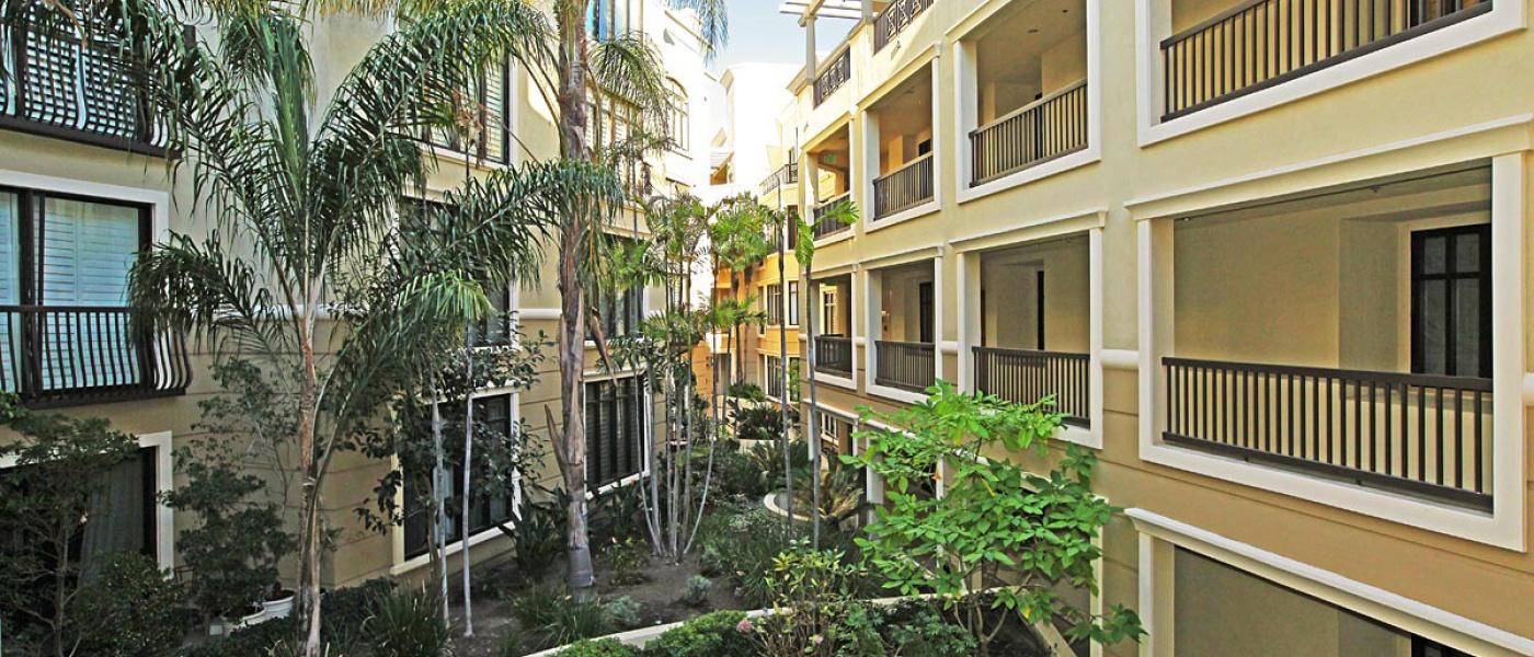 Courtyard View 2