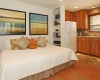 Guest House Bed / Kitchen